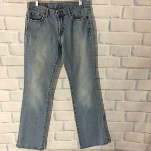 Lucky brand boot cut jeans. Size 6 or 28. Made USA